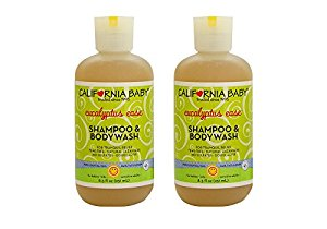 California Baby Shampoo & Body Wash, Eucalyptus Ease 8.5 oz. 2-Pack by California Baby