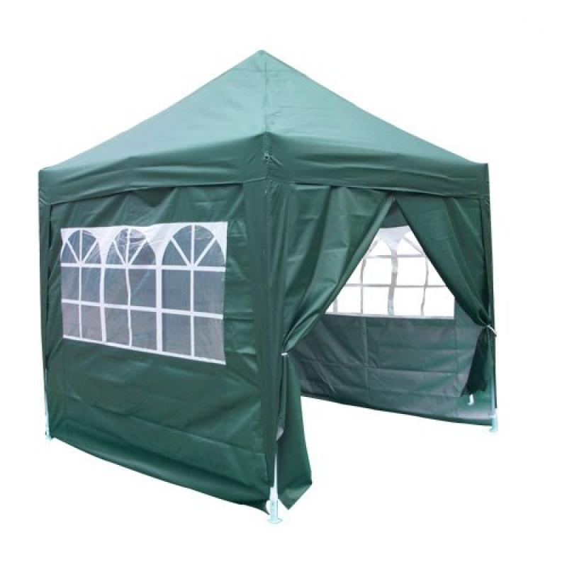 8' x 8' SilvoxCT Pop Up Canopy Green