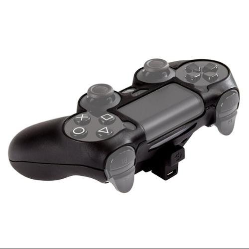 Ps4 Controller Skin Plus Black W/built In Battery (Goodbetterbest Ltd)