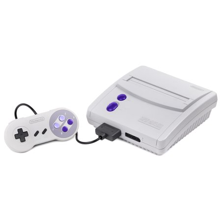 Super Nintendo Entertainment System SNES Mini Console- SNES (Refurbished)