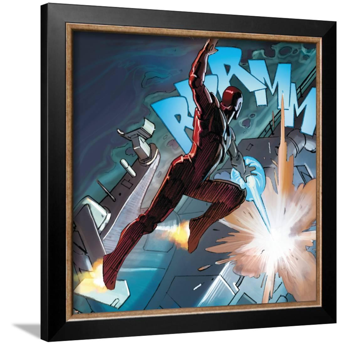 Avengers Assemble Style Guide: Iron Man Framed Poster Wall Art