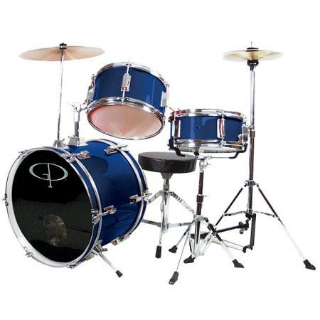 7. GP Percussion GP50BL Complete Drum Set
