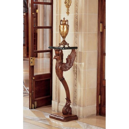 - The Griffin of Hanover Pedestal with Marble Top