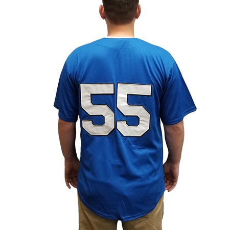 Kenny Powers 55 Myrtle Beach Mermen Baseball Jersey Eastbound And Down Costume (Eastbound And Down Halloween Costumes)