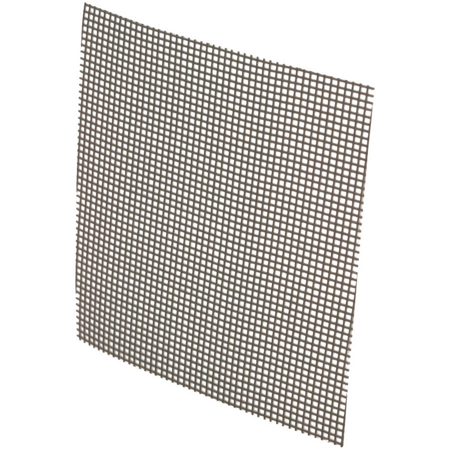 "Prime Line P8095 3"" x 3"" Gray Adhesive Backed Screen Repair Patches, 5 Count"