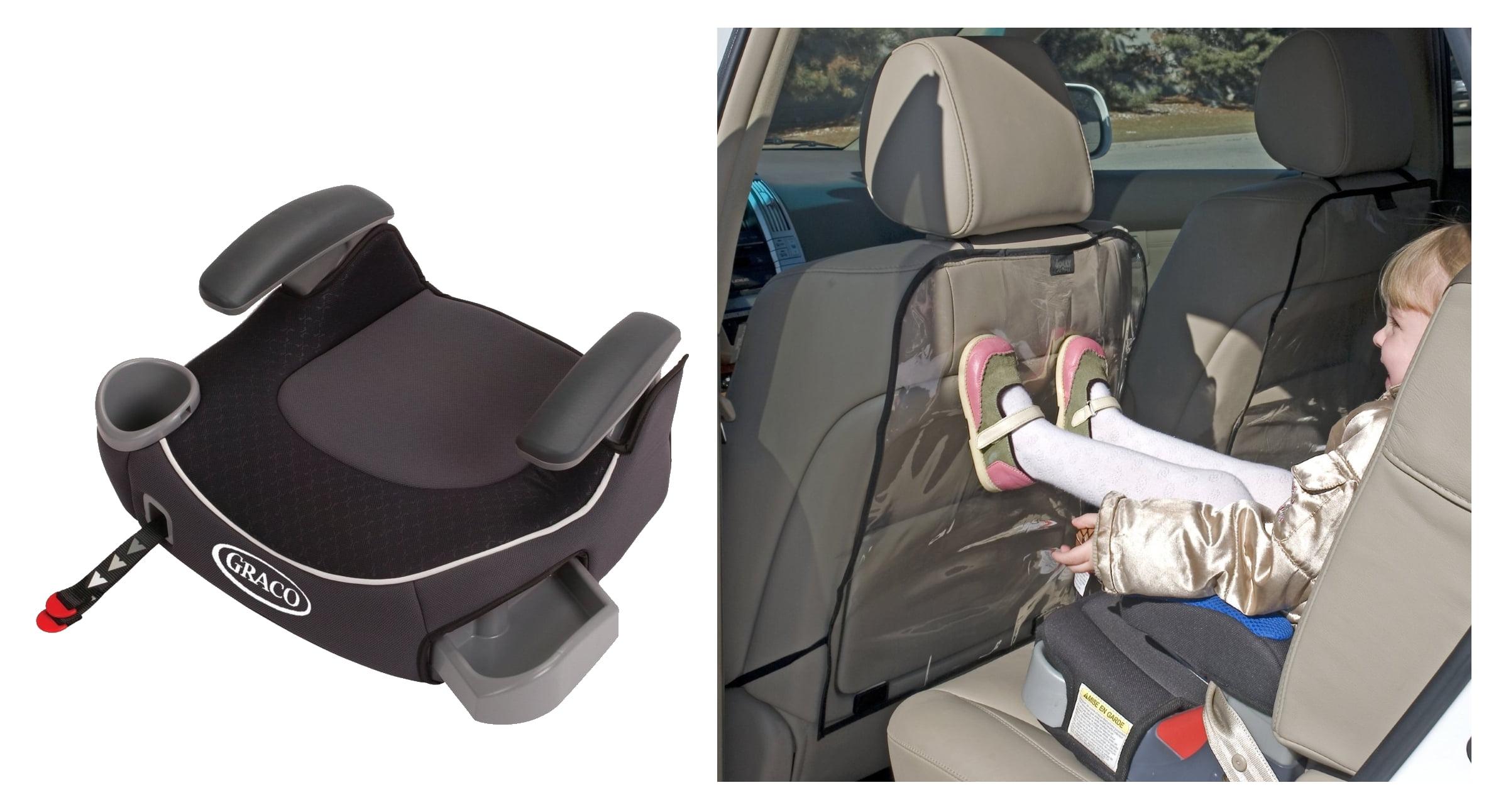 Silla De Carro Para Bebe Afijo de Graco Booster sin respaldo asiento con asiento trasero retroceso protectores, Davenport + Graco en Veo y Compro