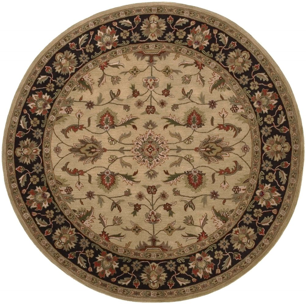 Traditional Caster Collection Area Rug in Multiple Color and Oval, Rectangle, Round, Runner Shape