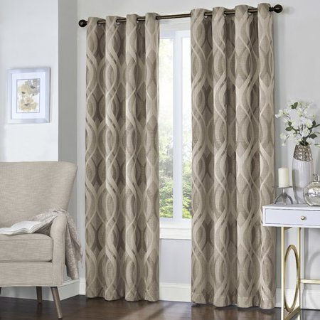 Eclipse Curtains Caprese Thermalayer  Blackout Single Curtain Panel