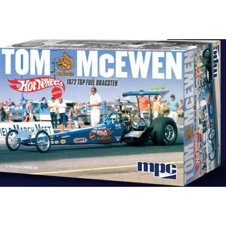 MPC 855 1:24 Tom Mongoose McEwen 1972 Rear Engine Dragster