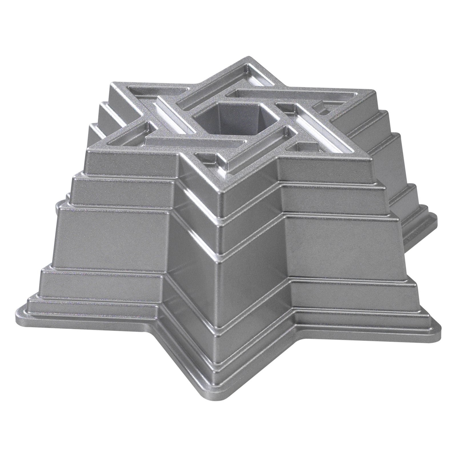Nordic Ware Bundt Bakeware Cast Aluminum Nonstick Star Of David Bundt Pan    Walmart.com