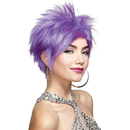 Cheap Blue Wigs (Vivid Adult Halloween Wig)