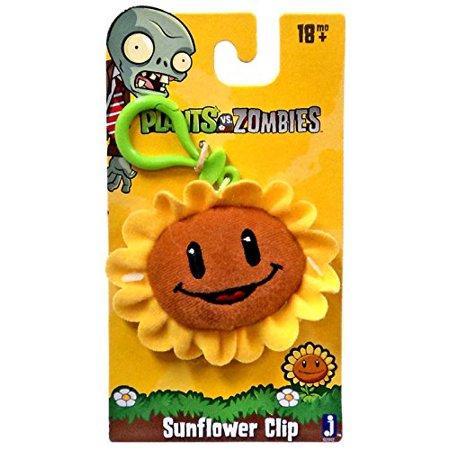 Plants vs. Zombies Sunflower Plush Clip On ()