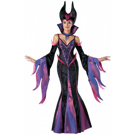 Dark Sorceress Adult Costume - Plus Size 3X](Adult Sorceress Costume)