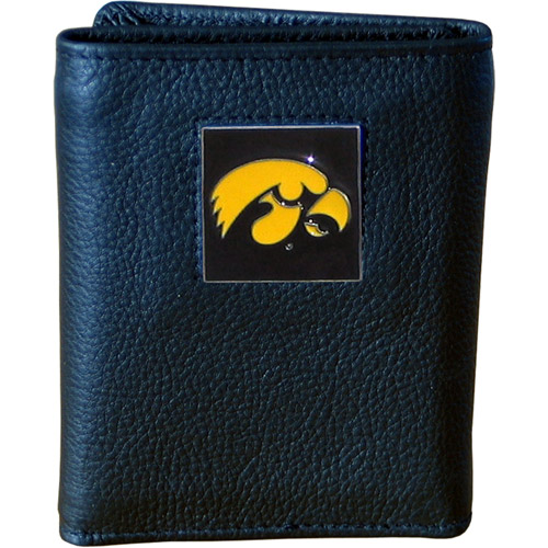 NCAA - Executive Tri-Fold Wallet in Collector's Tin, University of Iowa Hawkeyes