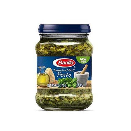 8 PACKS : Barilla Pasta Barilla Basil Pesto Sauce, 6 Ounce -- 8 per