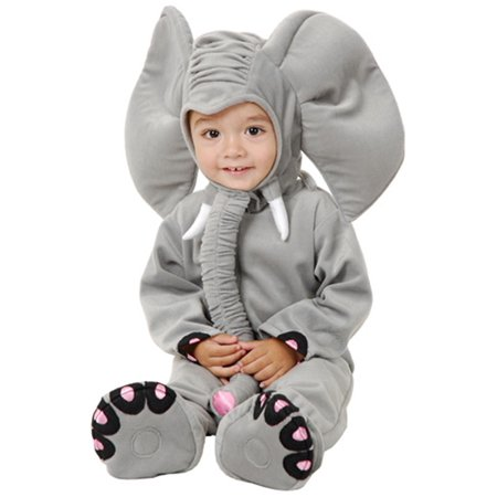 Lil Elephant Infant & Toddler Costume (Lil Monster Toddler Costume)