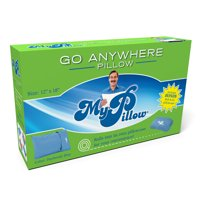 MyPillow Roll & Go Anywhere Travel Pillow, Multiple Colors Available