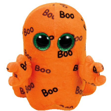 Boo The Ghost - Ty Inc - Beanie Boos - Ghoulie the Orange Ghost - 6