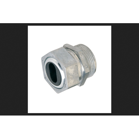 Gampak Sigma Watertight Cable Connector Silver 1/2 in. Dia. 1