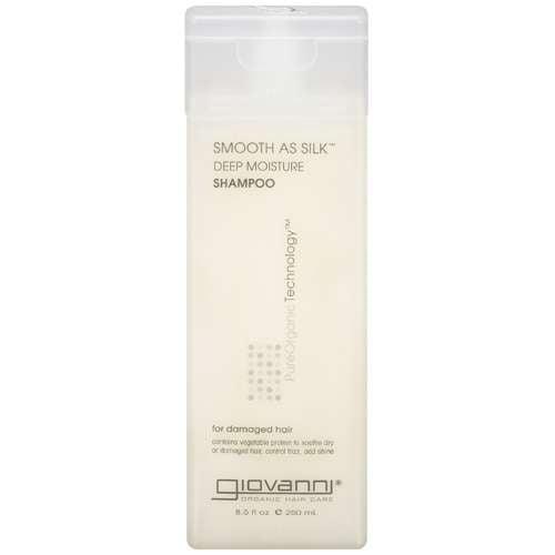 Giovanni Smooth As Silk Shampoo, Deep Moisture For Damaged Hair,  8.5 oz