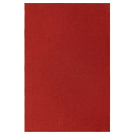 Indoor/outdoor Red area rugs with premium non skid backing Great for Patio, Porch, Deck, Boat, Basement, Garage, party, event, wedding tents and more Available Size 9