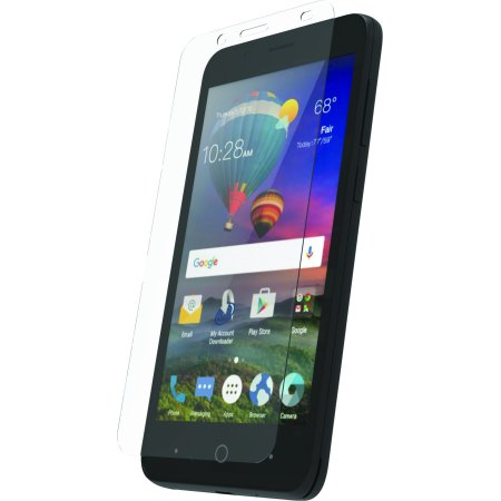 WriteRight DuraGlass Tempered Glass Screen Protector for ZTE ZFive® C LTE
