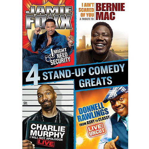 Stand-Up Comedy Greats Collection: Bernie Mac / Charlie Murphy / Jamie Foxx / Donnell Rawlings (Widescreen)