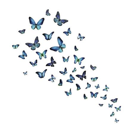 Mariposa Butterfly Wall Art Kit - Walmart.com