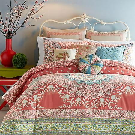 Jessica Simpson Amrita Medallion 3pc Comforter Set King