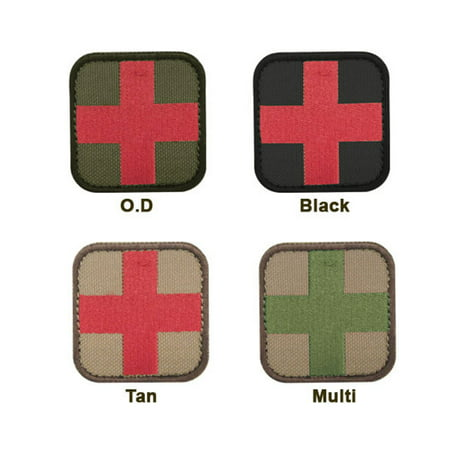 Medic Patch (6 Pack) Color- Black/Red (Fulfillment Services Inc)