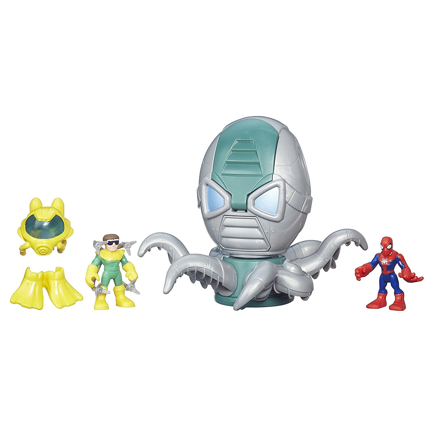Playskool Heroes Super Hero Adventures Spider-Man & Octo-Mech