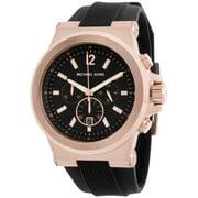 Michael Kors Men's Dylan Chronograph Black Dial Watch mk8445