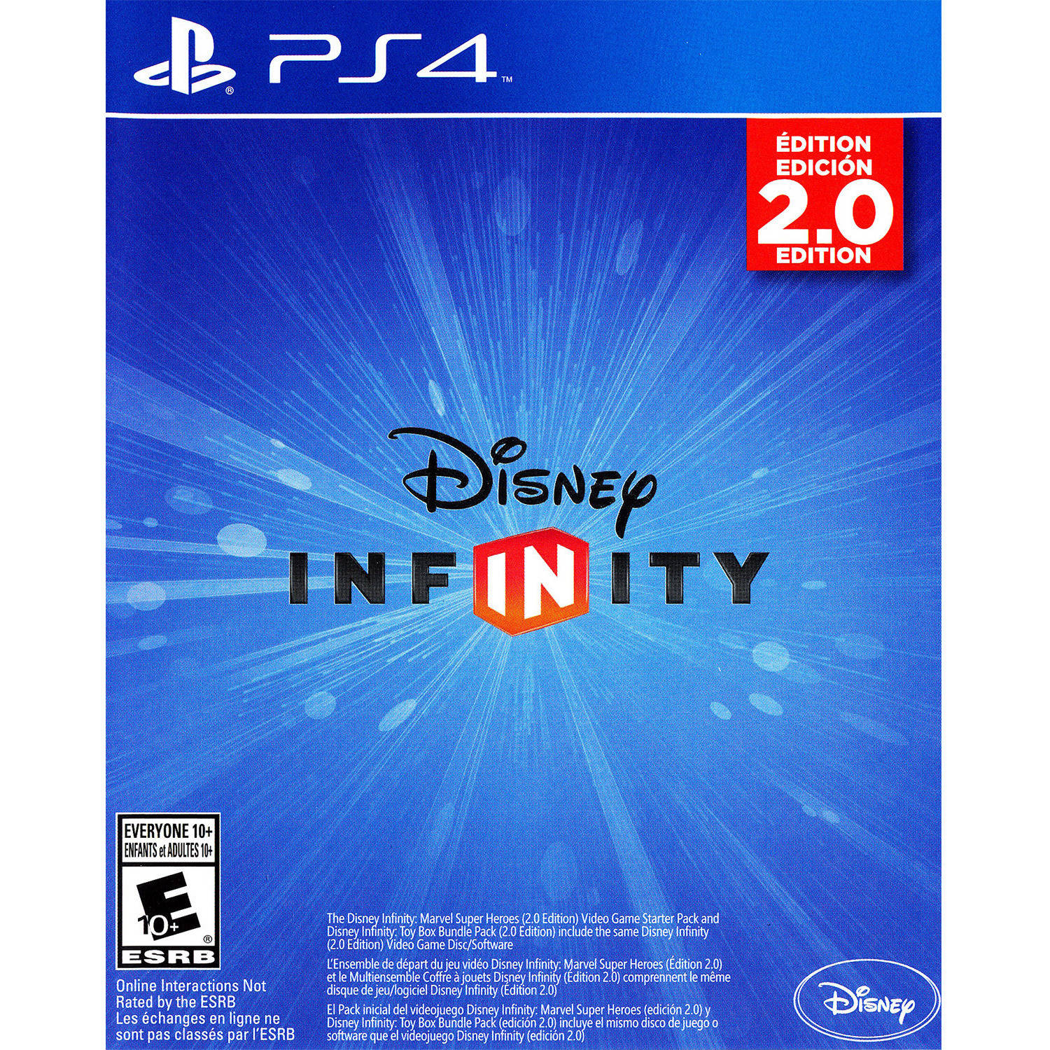 Disney Infinity 2.0 (PS4) - Pre-Owned - Game only