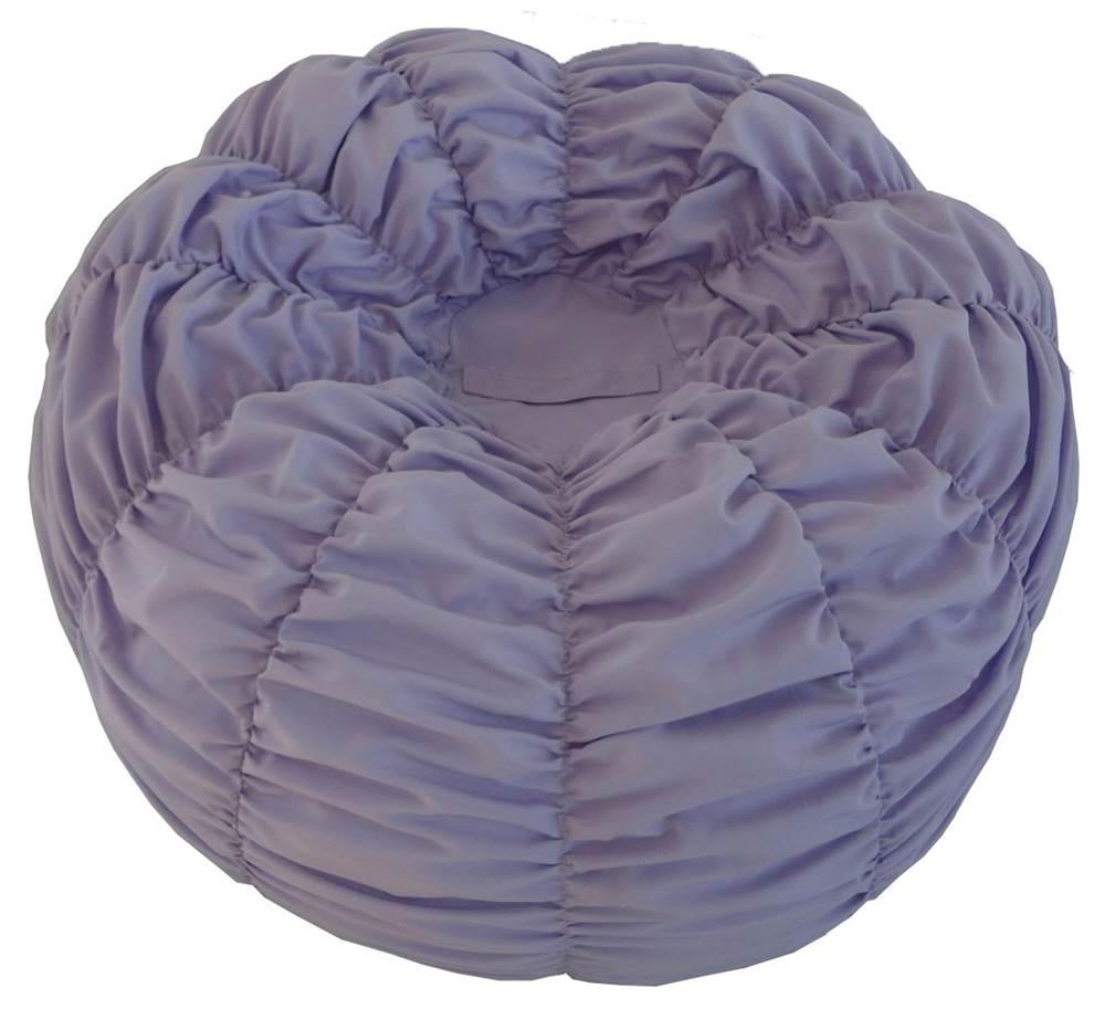 Medium Cinched Bean Bag in Lavender