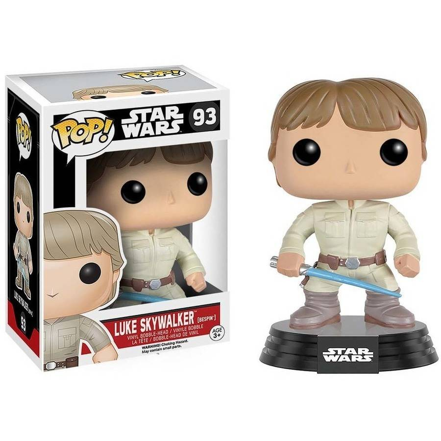 Funko POP! Star Wars: Bespin Luke with Lightsaber