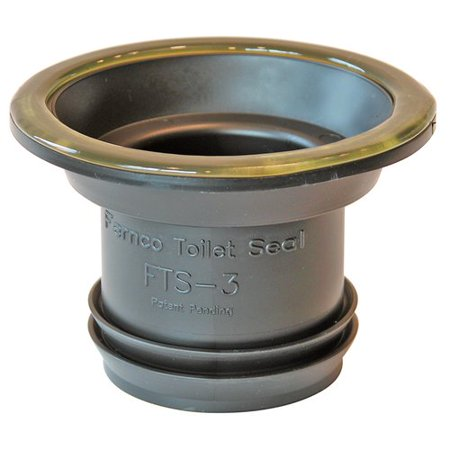 Fernco Toilet Seal (Toilet Seal,Wax Free,Fits 3 In Drain FERNCO)
