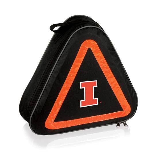 Illinois Roadside Emergency Kit (Black)