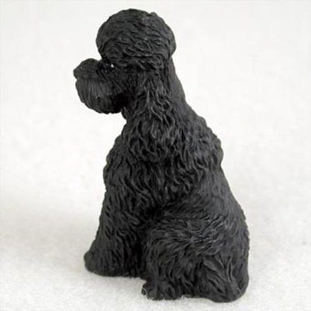 DTN104D CON Poodle Black w/Sport Cut Tiny One Figurine