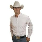 Stetson Western Shirt Mens L/S Button Plaid Pink 11-001-0579-0035 PI