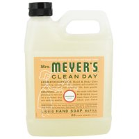 Mrs. Meyers Clean Day Liquid Hand Soap Refill, Geranium - 33 Oz, 6 Pack