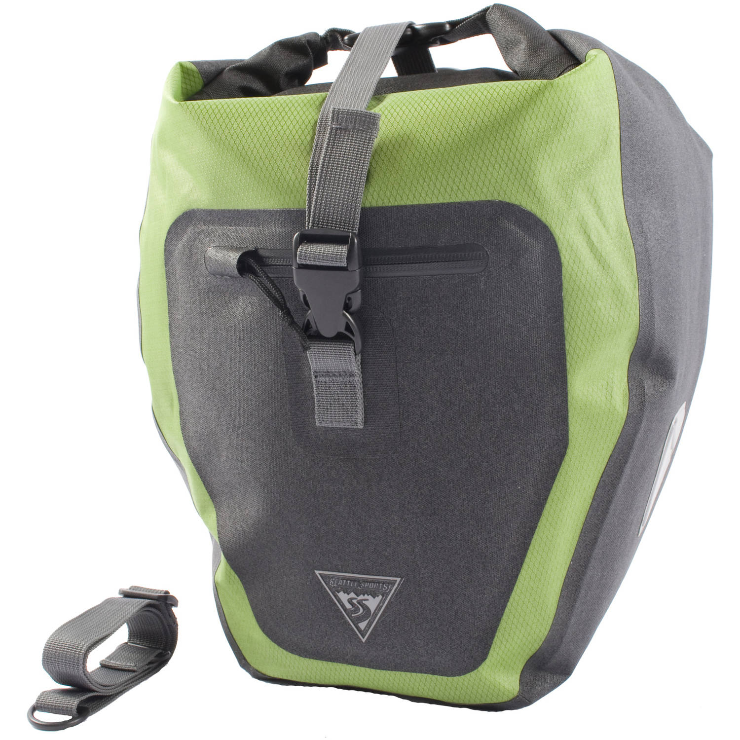 Seattle Sports Rain Rider Pannier, Green