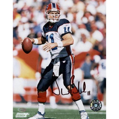 NFL - Drew Bledsoe Buffalo Bills - White1 - 8x10 Autographed Photograph