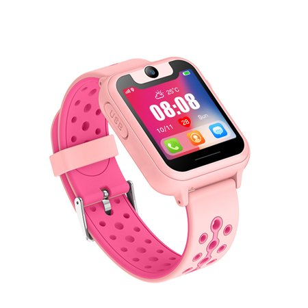 Cell Phone Gps Camera (Updated Kids Smart Watches with GPS Tracker Phone Call for Boys Girls Digital Wrist Watch, Sport Smart Watch, Touch Screen Cellphone with Camera Anti-Lost SOS Learning Toy for Kids Gift)