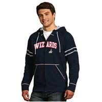 Washington Wizards Antigua Velocity Full-Zip Hoodie - Navy