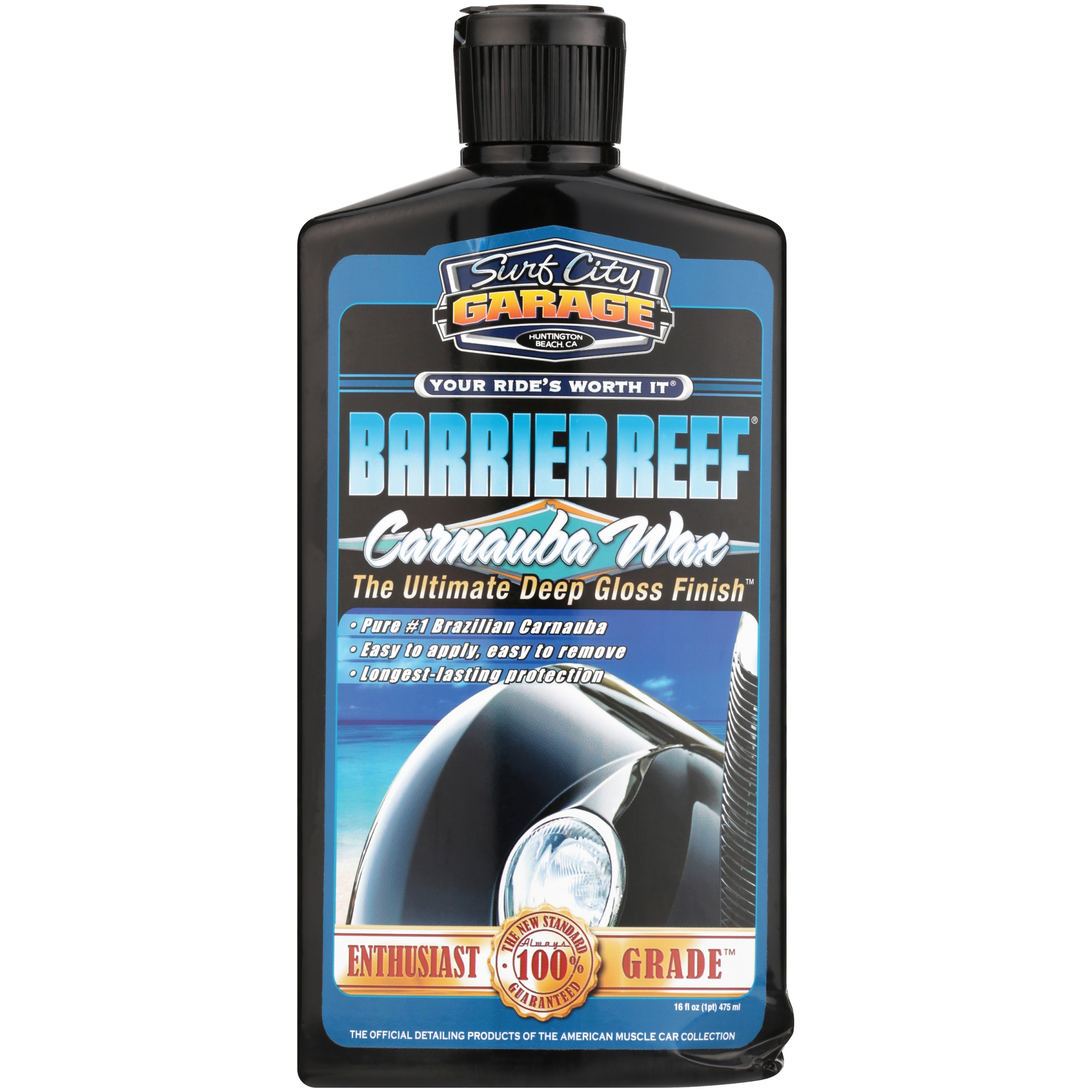 Surf City Garage® Barrier Reef® Carnauba Wax 16 fl. oz. Bottle