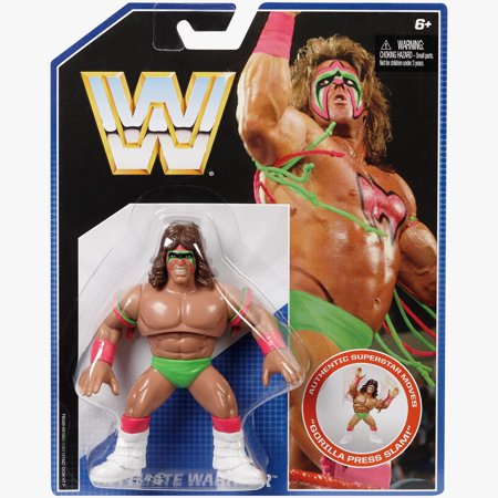 Retro Tops (Ultimate Warrior - WWE Retro Toy Wrestling Action)