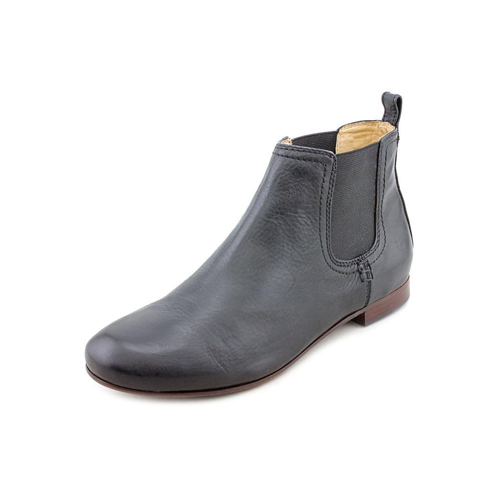 frye jillian chelsea toe leather ankle boot