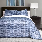 Pebble Creek Tie Dye Quilts/Sleeping Bags Navy 3-Piece Set, Sherpa, Twin