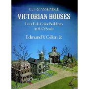 Cut & Assemble Victorian Houses