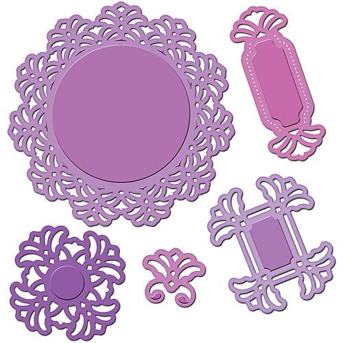 Spellbinders Shapeabilities Dies, Vintage Lace Motifs
